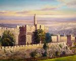 By the Tower of David by Alex Levin