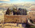 Shaining day by the Kotel by Alex Levin