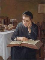 Child with Scriptures. by Talko
