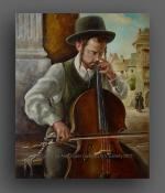 The Violoncellist.