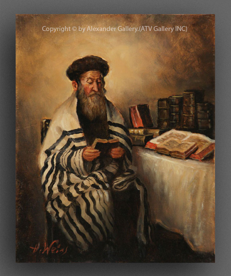 A Rabbi Reading..