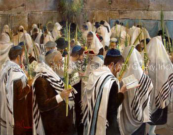 Sukkot by Alex Levin