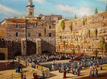 Jerusalem by Alex Levin