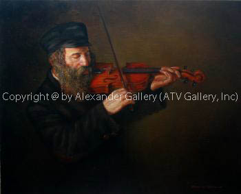 The Violinist by Boris Dubrov