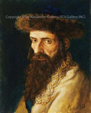 Portrait of Hassid IV. by Victor Brindatch