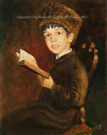 Boy Study. by Victor Brindatch