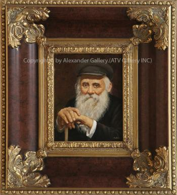 Portrait Of Old Man by Talko